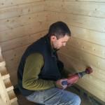 chantier Cotignac la maison bois cote sud