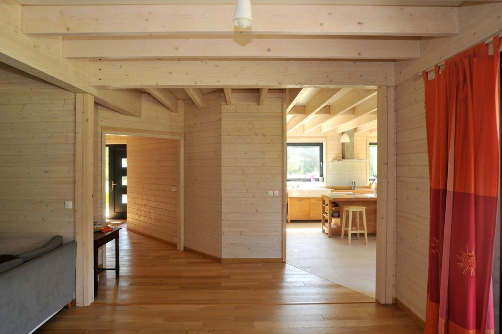 maison bois avec mezzanine obtenez des. Black Bedroom Furniture Sets. Home Design Ideas