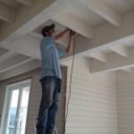 chantier Mougins la maison bois cote sud