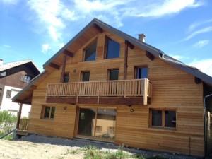 chalet la maison bois cote sud