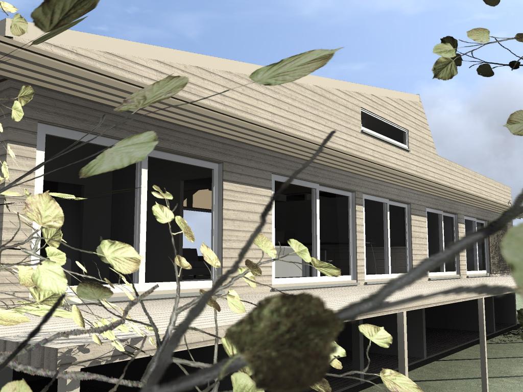 ouverture des fouilles ponteves maison bois c t sud. Black Bedroom Furniture Sets. Home Design Ideas