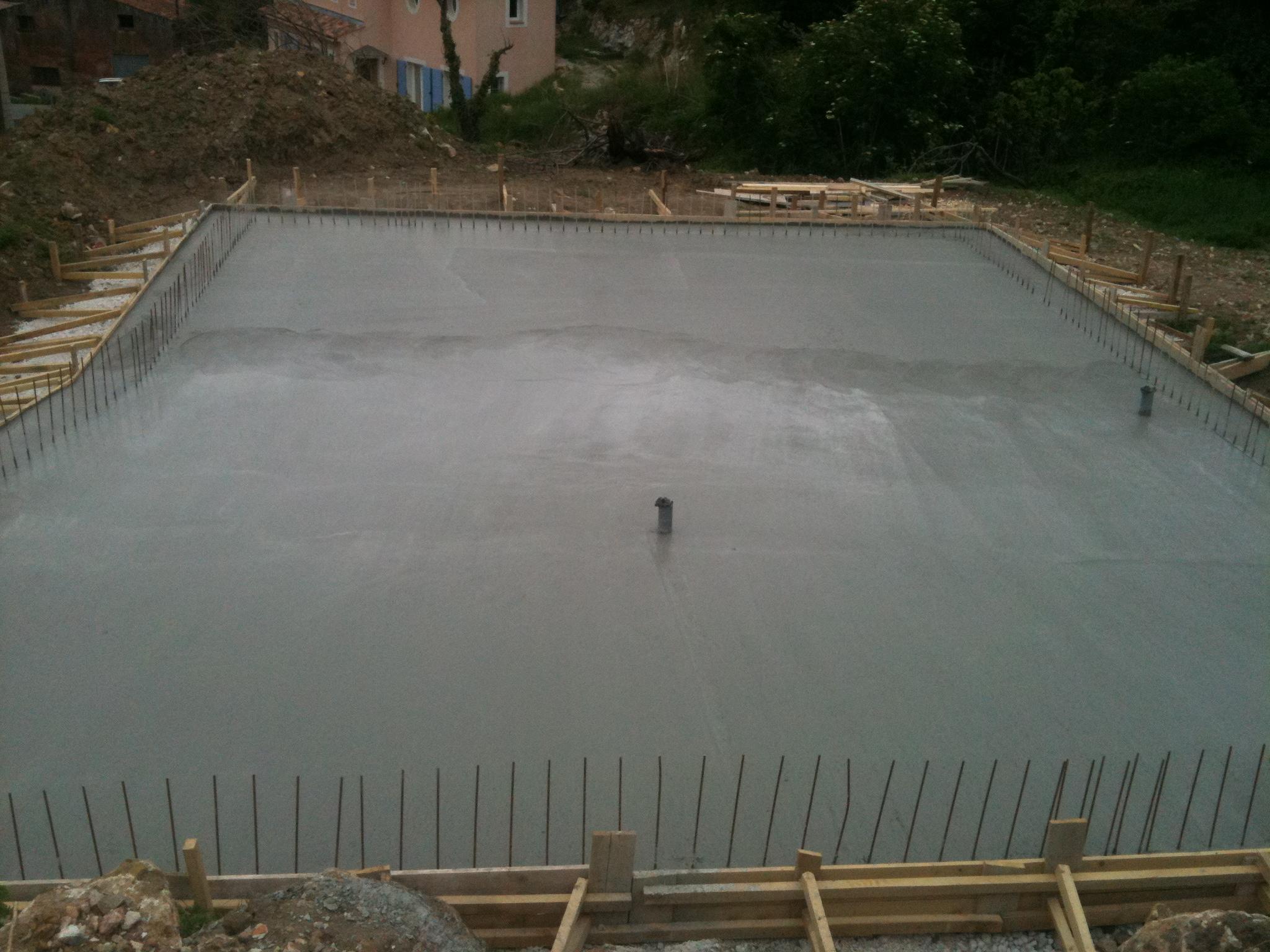 Radier maison bois c t sud - Le beton cellulaire est il hydrofuge ...