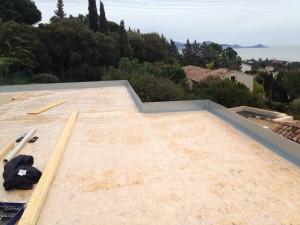 cornière toiture terrasse