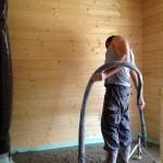 chape anhydrite maison bois massif