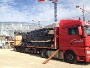 transport ossature bois