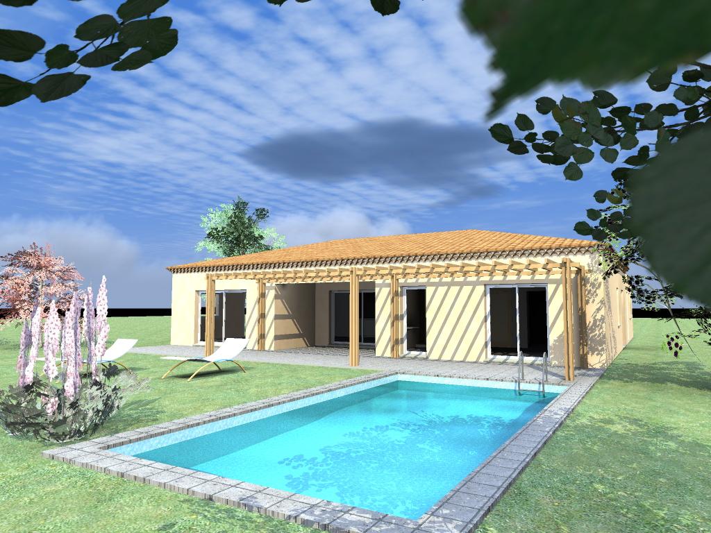 nouveau chantier dans le 06 maison bois c t sud. Black Bedroom Furniture Sets. Home Design Ideas