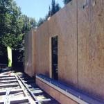 déchargement murs ossature bois