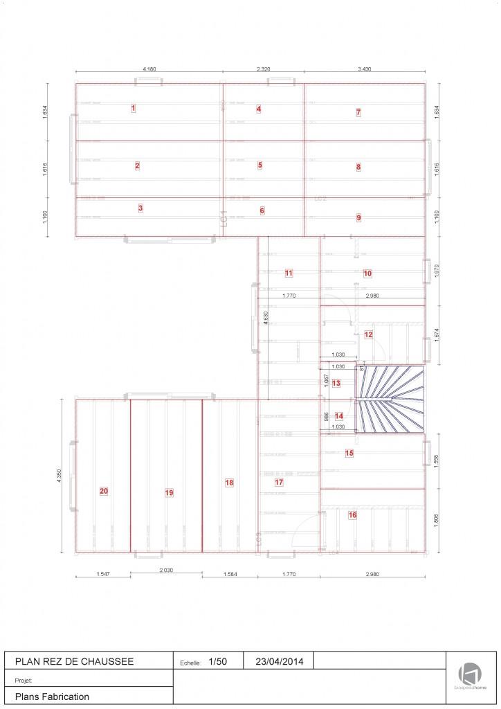 plancher maison bois massif