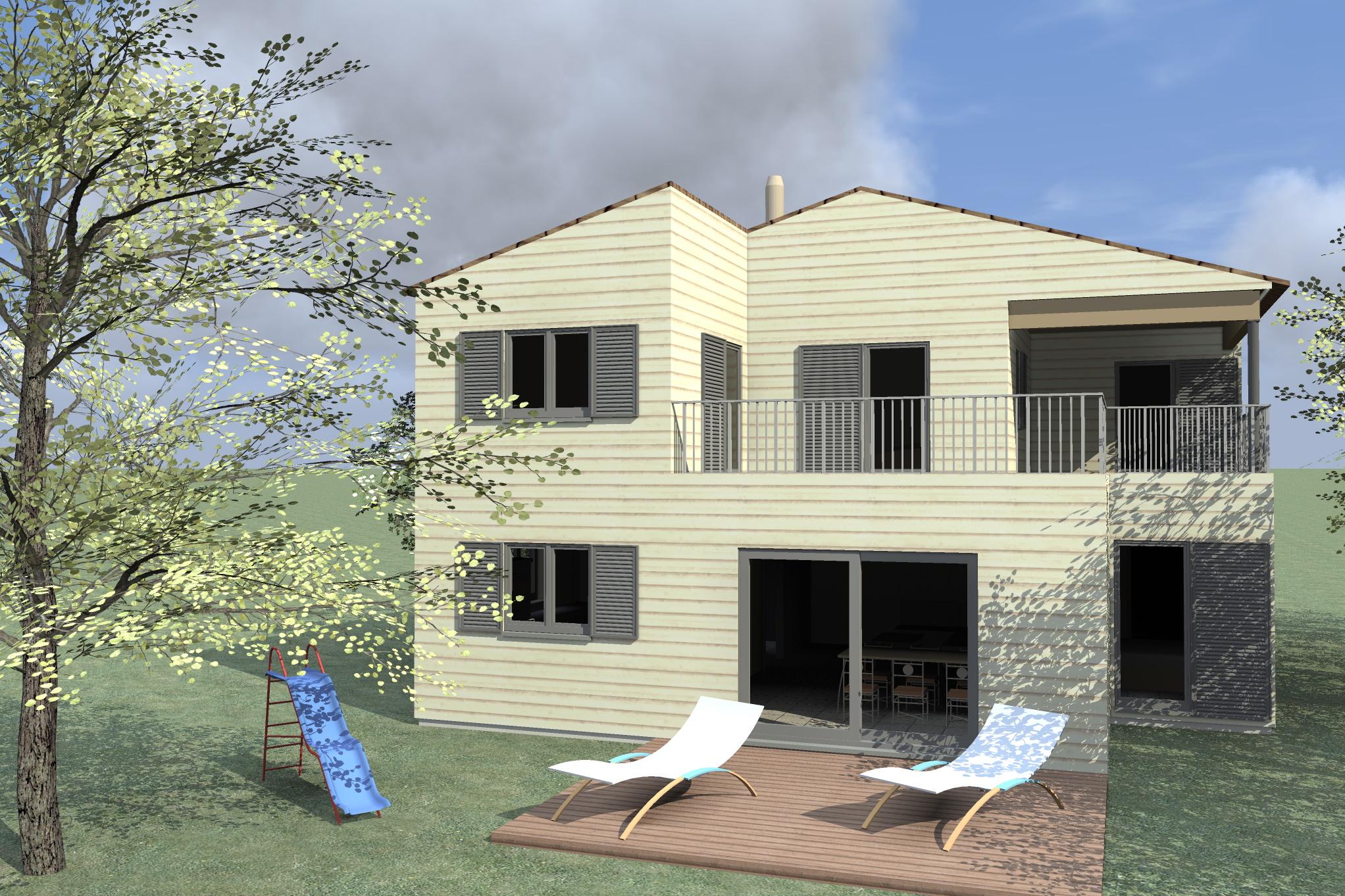 marseille maison bois c t sud. Black Bedroom Furniture Sets. Home Design Ideas