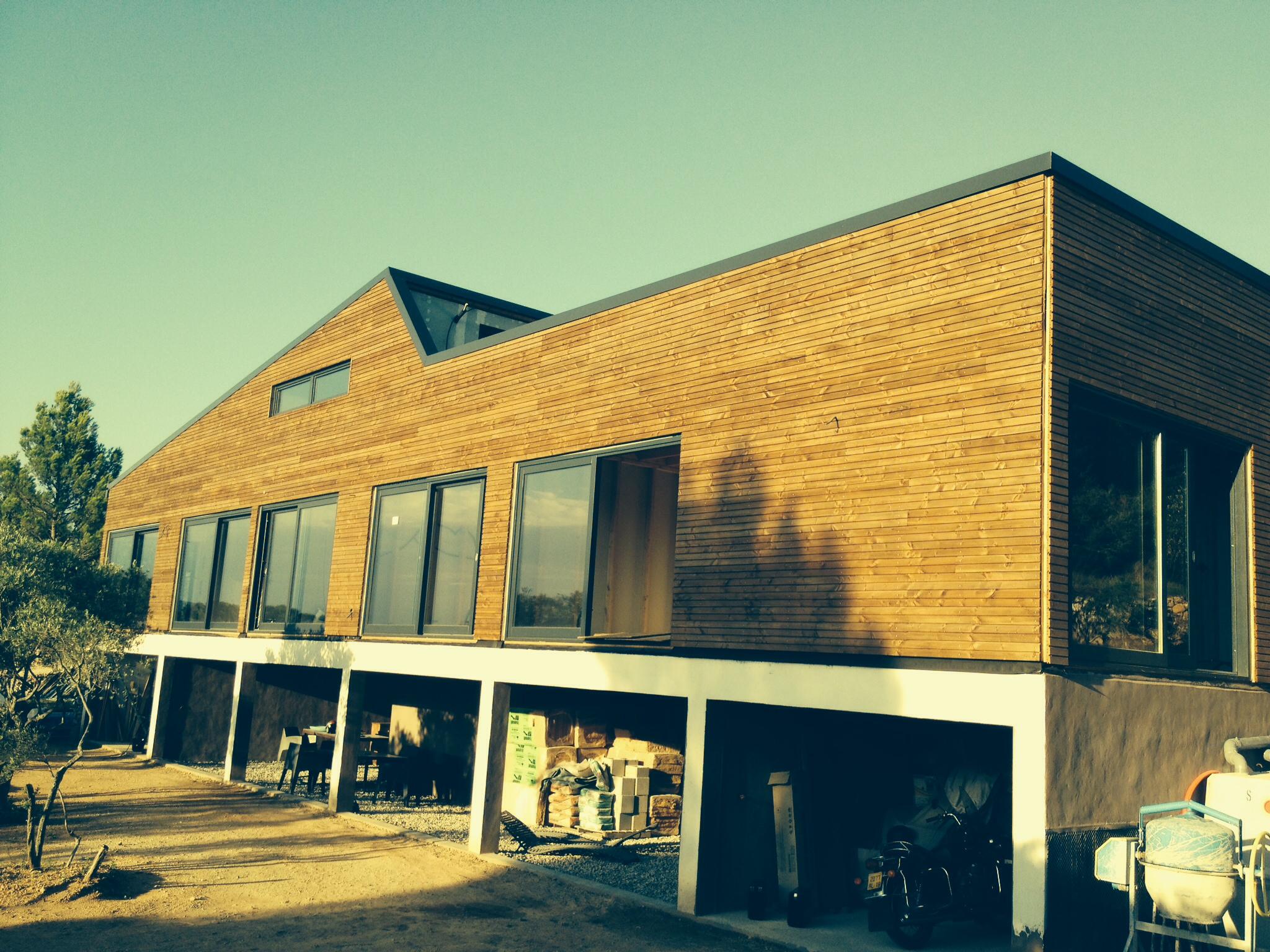 Constructeur maison bois dans le var for Constructeur de maison moderne dans le var
