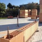 briques Porotherm terre cuite