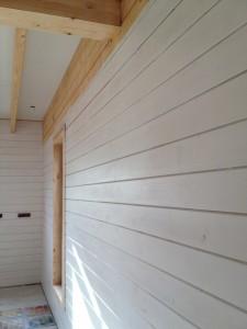 peinture maison bois massif Mouans Sartoux