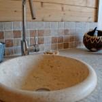 salle de bains maison bois massif