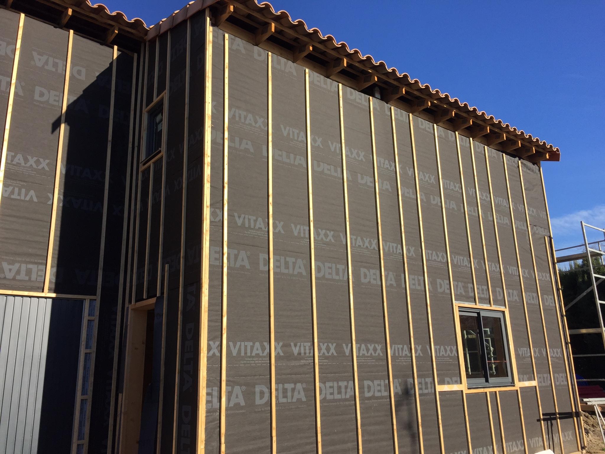 Construction dans le 13 maison bois c t sud for Pare pluie bardage bois