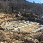 fondations maison bois massif