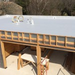 terrasse maison bois massif