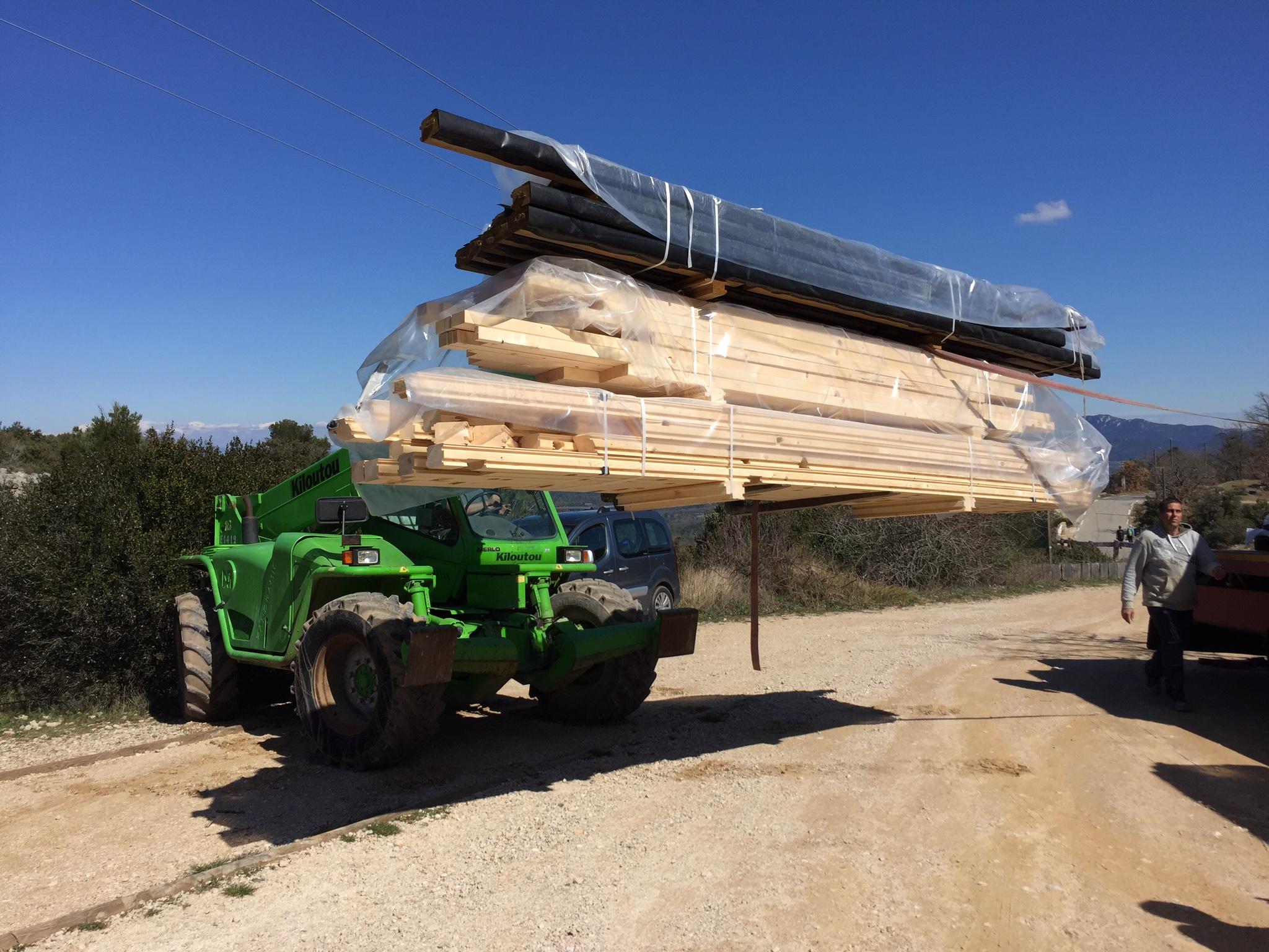 Constructeur maison bois c t sud for Constructeur maison wallonie