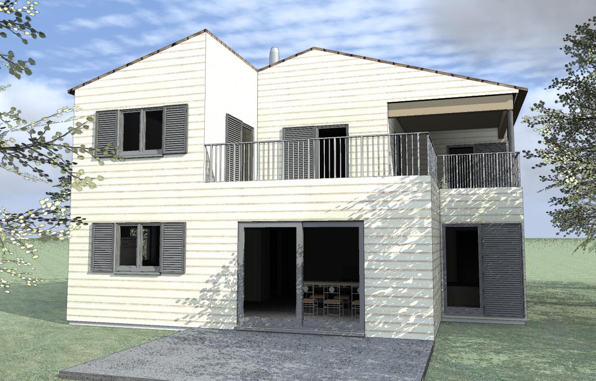 Constructeur bois maison bois c t sud for Constructeur maison marseille