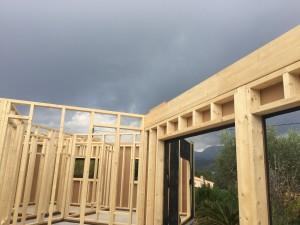 maison ossature bois Carros