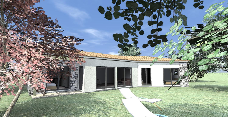 une nouvelle maison en bois carros maison bois c t sud. Black Bedroom Furniture Sets. Home Design Ideas