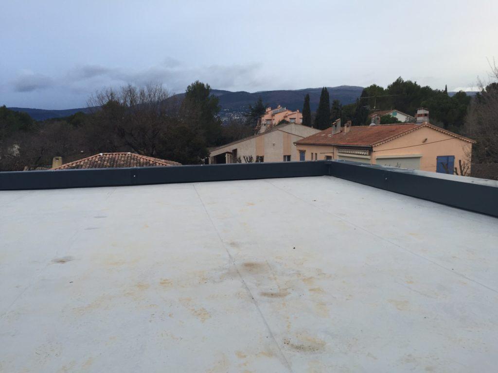 Etanchéité membrane PVC toit terrasse à Mouans Sartoux ( 06 )