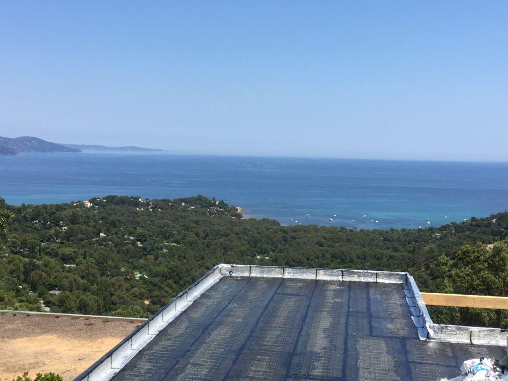 Etanchéité goudronnée toiture terrasse