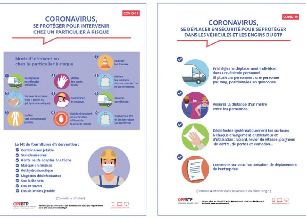 affiche protection Covid 19