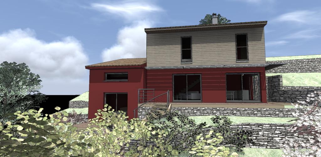 projet maison bois dans le 06